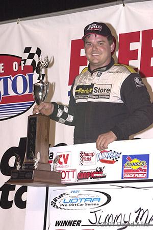 Bristol Motor Speedway 2001 Jimmy Mars