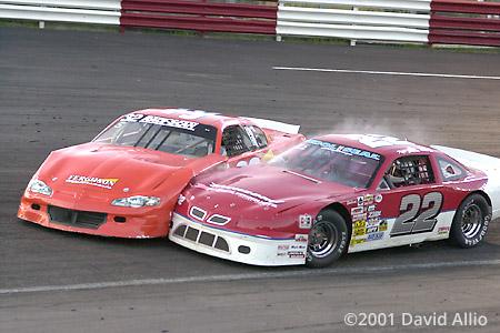 Lonesome Pine Intl Raceway 2001 Robbie Ferguson Keith Stiltner