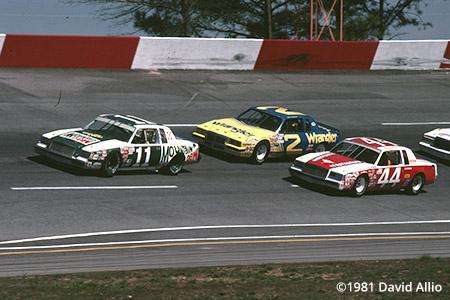 Atlanta Intl Raceway 1981 Darrell Waltrip Dale Earnhardt