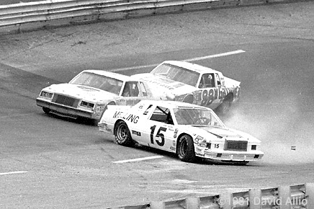 Bristol Intl Raceway 1981 Benny Parsons Joe Millikan