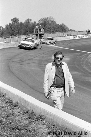 North Wilkesboro Speedway 1981 Bill France Jr Lake Speed