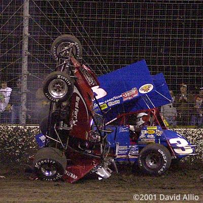 Texas Dirt Track 2001 Brad Furr Daryn Pittman