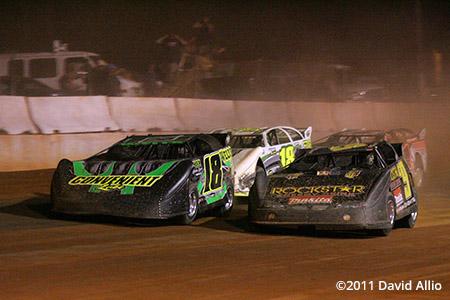 Cherokee Speedway 2011 Steve Casebolt Eric Wells