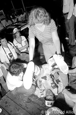Nashville Intl Raceway 1981 Darrell Waltrip Stevie Waltrip
