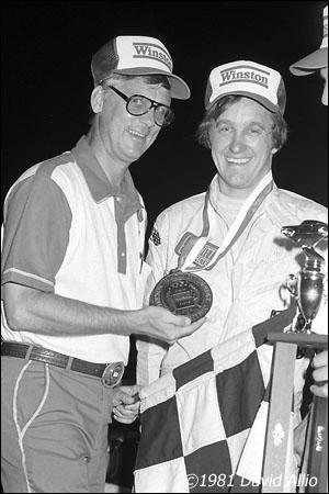 Holland Speedway 1981 Doug Hewitt Roger Bear