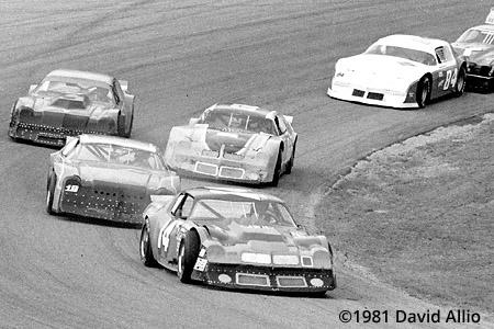 Five Flags Speedway 1981 Freddy Fryar Ronnie Sanders