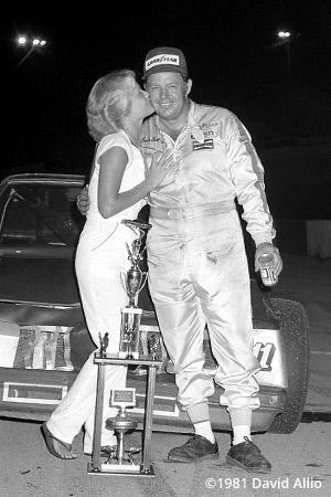 Kingsport Intl Speedway 1981 Jack Ingram Robin Schuler
