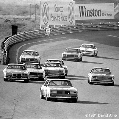 Phoenix Intl Raceway 1981 Jim Robinson