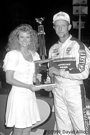 Lonesome Pine Intl Raceway 1991 Johnny Rumley Lisa Baker