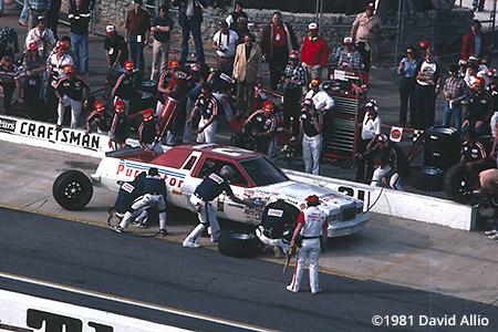 Atlanta Intl Raceway 1981 Neil Bonnett