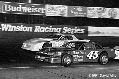 Ace Speedway 1991 Phil Gann Barry Beggarly