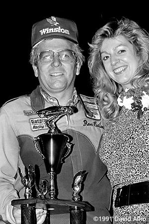 Evergreen Speedway 1991 Ron Eaton