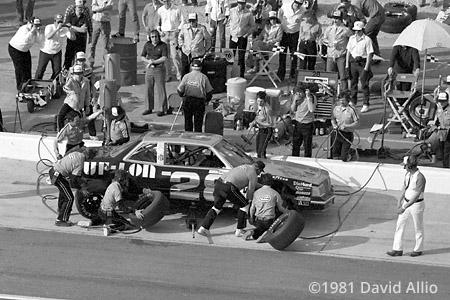 Atlanta Intl Raceway 1981 Bobby Allison