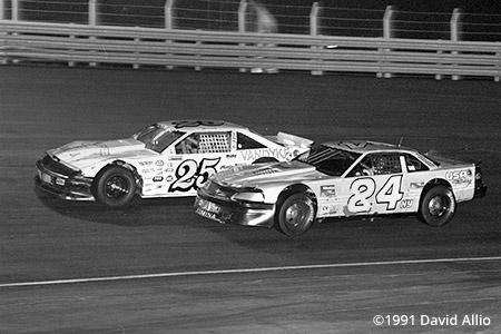 Lonesome Pine Intl Raceway 1991 Brian Meadows Eddie Densieski