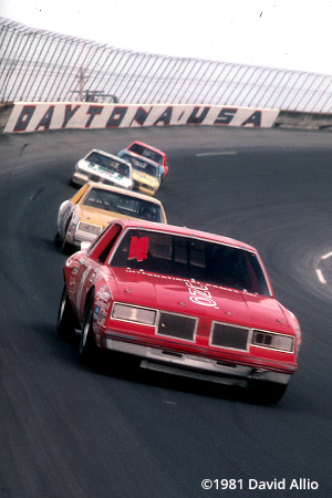 Daytona Intl Speedway 1981 Buddy Baker