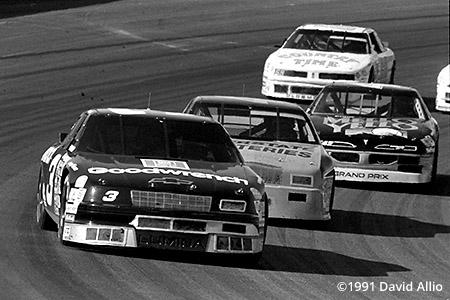 Phoenix Intl Raceway 1991 Dale Earnhardt