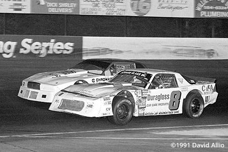 Ace Speedway 1991 Jay Fogleman Donnie York