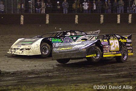 Texas Dirt Track 2001 Jimmy Mars Scott Bloomquist