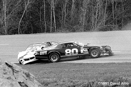 Five Flags Speedway 1991 Tommy Evans Ray Skillman