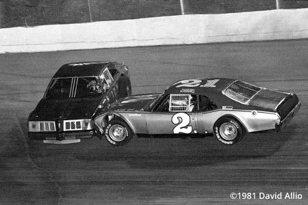 Kingsport Intl Speedway 1981 Willis Blevins Jeff Berry