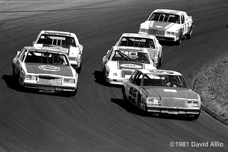 North Wilkesboro Speedway 1981 Bob McElwee Buick Dean Combs Buick 32nd Annual Holly Farms 400 NASCAR Winston Cup Grand National