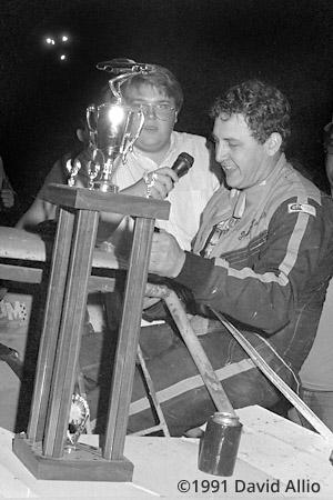 Mountain Motor Speedway 1991 Paul Harris Chris Blair Mountain Heritage 100 unsanctioned dirt late model