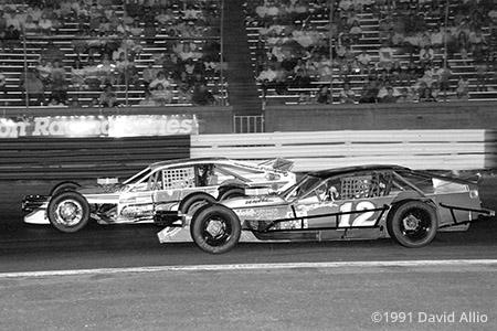 Bowman Gray Stadium 1991 Roger Beshears Chevrolet Robert Jeffreys Chevrolet Winston 200 NASCAR Winston Racing Series Modified