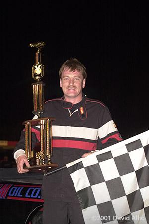 Newport Speedway 2001 Billy Barton