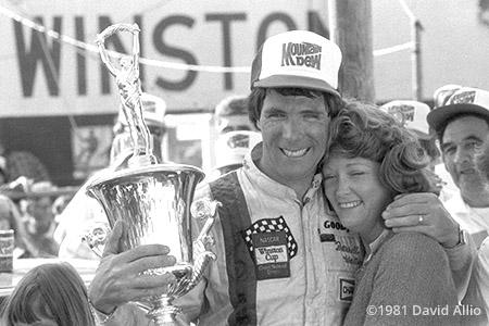 North Wilkesboro Speedway 1981 Darrell Waltrip Stevie Waltrip