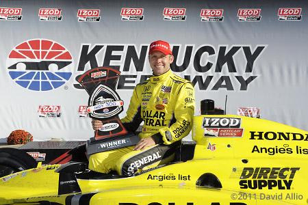 Kentucky Speedway 2011 Ed Carpenter