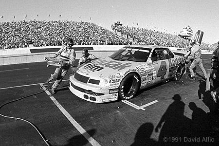 Phoenix International Raceway 1991 Ernie Irvan