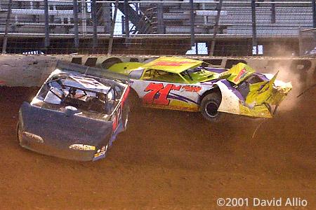 Bristol Motor Speedway 2001 Jason Smith Lance Mathees