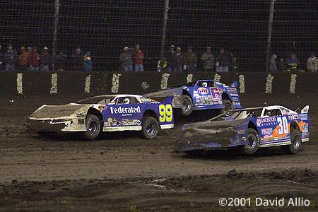 Texas Dirt Track 2001 Ken Schrader Wendell Wallace