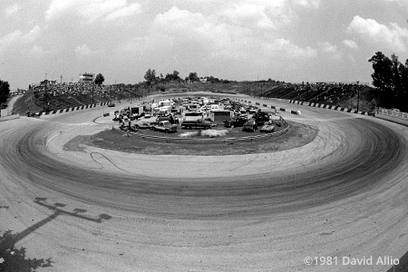 Kingsport International Speedway 1981 Kingsport Tennessee short track paved oval