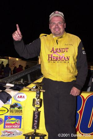 Newport Speedway 2001 Scott Kilby winner