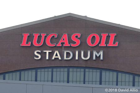 Lucas Oil Stadium Indianapolis Indiana 2018