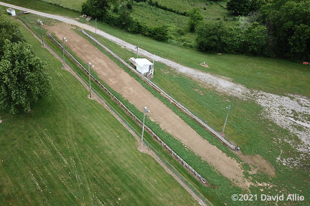 Kenton County Fair Grounds Independence Kentucky aerial photo dirt pull track 2021