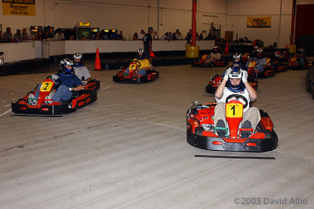 Fast Lap Indoor Kart Center Las Vegas Nevada 2003