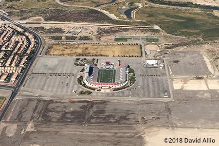 Sam Boyd Stadium Las Vegas Nevada 2018