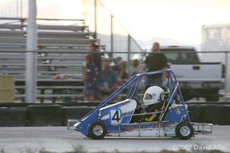 The KartTrack at LVMS Las Vegas Nevada 2007