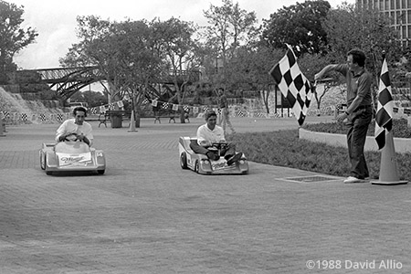Hemisfair Park San Antonio Texas 1988