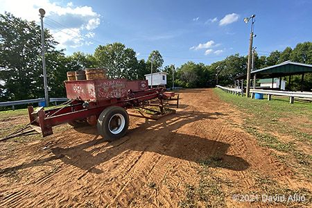 Russell County Fairgrounds Castlewood Virginia tractor pull dirt track 2021