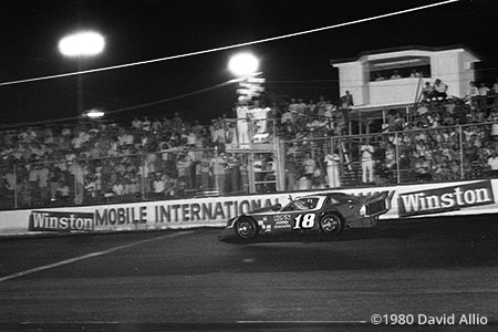 Mobile International Speedway Irvington Alabama 1980
