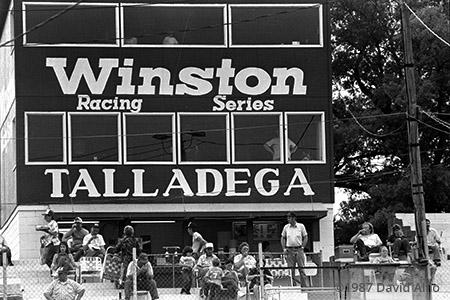 Talladega Short Track Talladega Alabama 1987