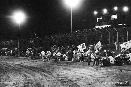 Yuma Speedway Yuma Arizona 1991