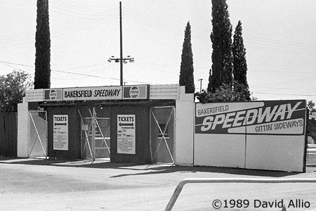 Bakersfield Speedway Oildale California 1987