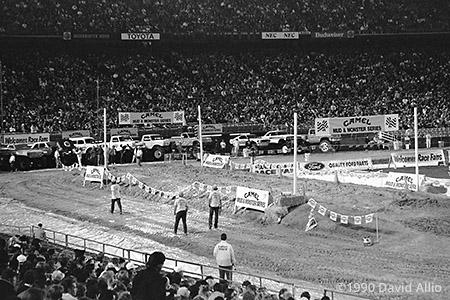 Jack Murphy Stadium San Diego California 1990
