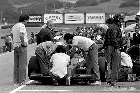Laguna Seca Raceway Monterey California 1986
