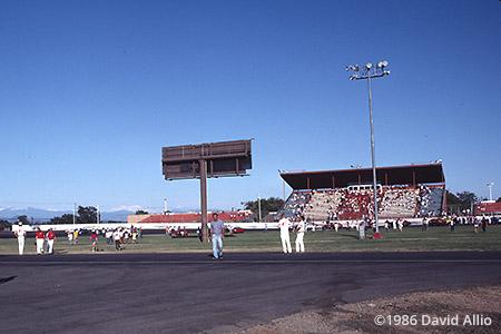 Shasta Speedway Anderson California 1986