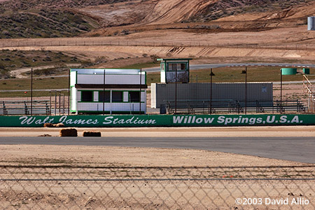 Walt James Stadium Willow Springs Rosamond California 2003